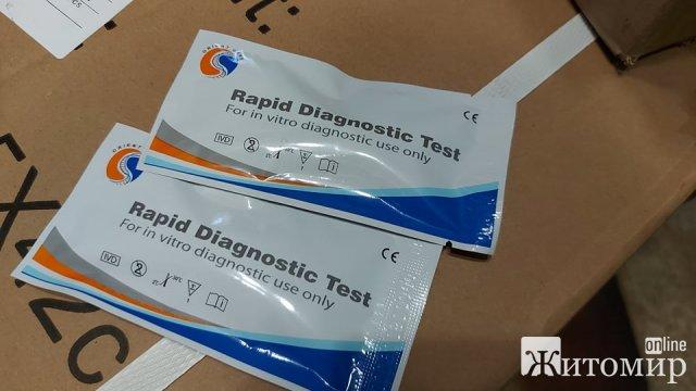 Житомирські вчителі пройдуть безкоштовне тестування на Covid, тести вже є