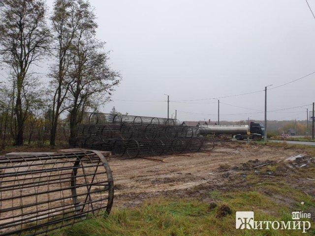 Біля Бердичева почали будувати транспортну розв'язку. ФОТО