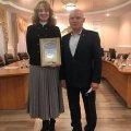 Асоціація з художньої гімнастики в Житомирській  області отримала подяку від керівництва ЖОО ФСТ «Динамо» України