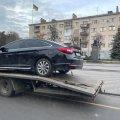 У Житомирі на перехресті зіштовхнулись Renault та Hyundai. ФОТО