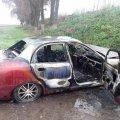 На Житомирщині Daewoo зіткнувся з КАМАЗ та загорівся, є постраждалі. ФОТО