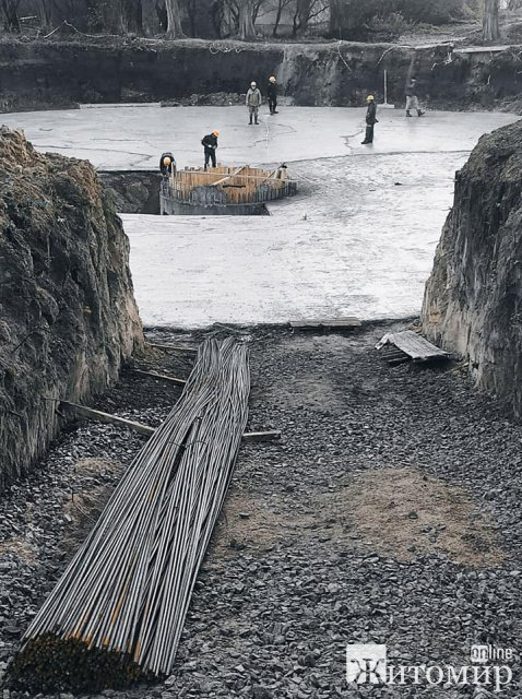Як у Житомирі просувається реконструкція очисних споруд. ФОТО