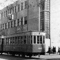 У Житомирі в 50-х роках вулицею Київською їздили трамваї. ФОТО