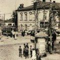 Угол Бердичевской и Кочерги в Житомире в начале 20-го века. ФОТО