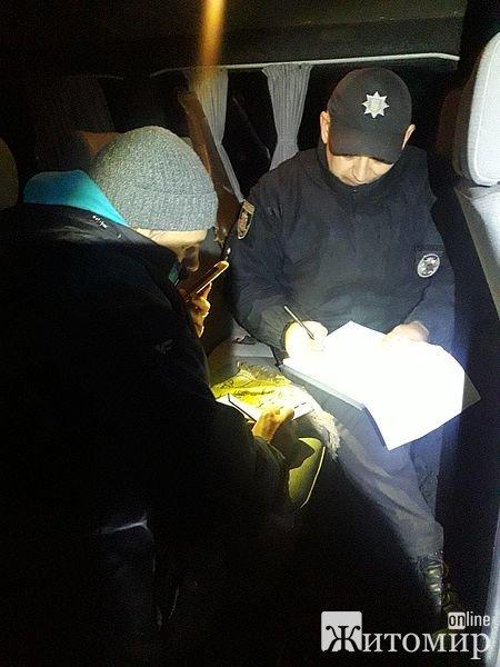 На Житомирщині затримали зухвалих браконьєрів, які за вбиту косулю мають заплатити 32 тис. грн