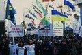 Підприємці продовжують протестувати під Верховною Радою. ВІДЕО