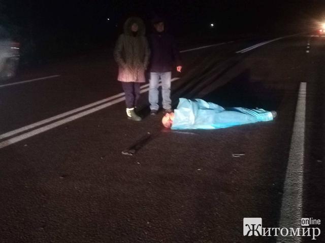 У Станишівці маршрутка насмерть збила пішохода. ФОТО