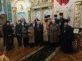 У Хрестовоздвиженській церкві нагородили Володимира Нікуліна, який півстоліття тому врятував церкву від знищення. ФОТО