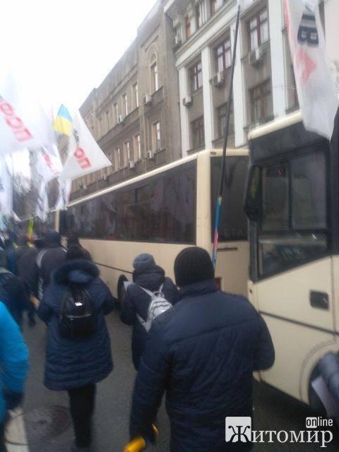 Житомиряни у Києві беруть участь у мітингу #SaveФОП. ФОТО ВІДЕО