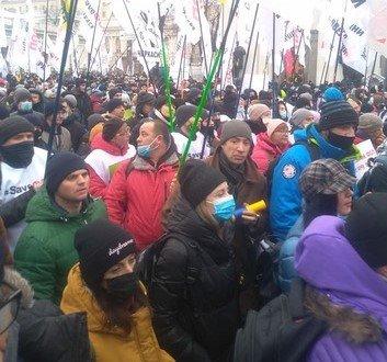 Сергей Форест: на митинге в Киеве уже больше 50 тысяч человек, возможны провокации
