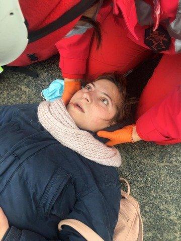 Перша кров на майдані підприємців: постраждала житомирянка. ФОТО