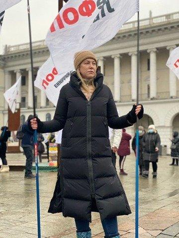 У Києві тривають протести підприємців