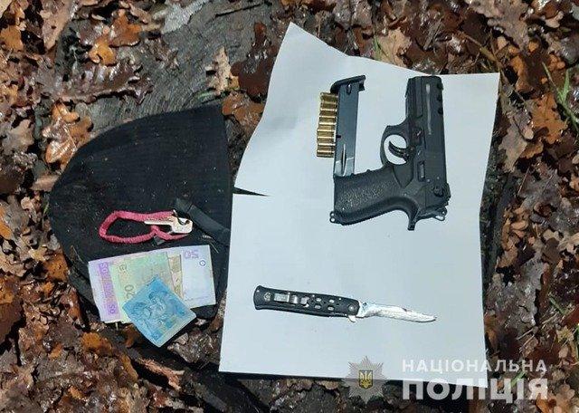 На Київщині затримали грабіжників, які діяли на території Житомирської області
