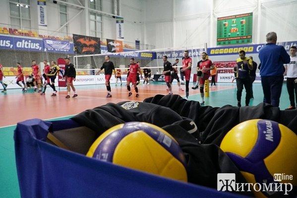Житомирські волейболісти зіграли у фіналі Суперкубку України
