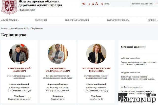 """Новообраний голова Житомирської облради досі """"заступник"""" Бунечка. ФОТО"""