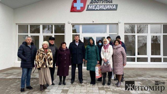 На Житомирщині за рік відкрили шосту амбулаторію. ФОТО
