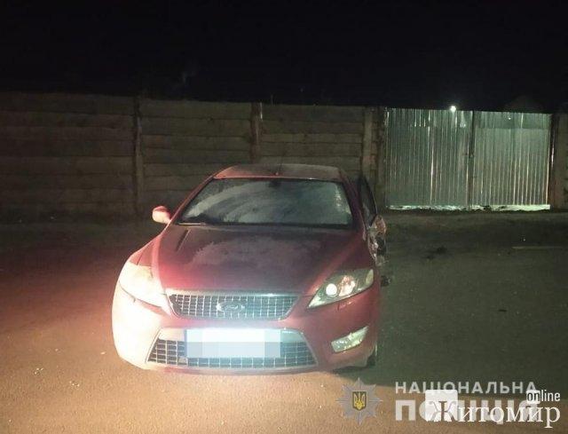 У Коростишеві зіштовхнулись два автомобілі, є потерпілий. ФОТО