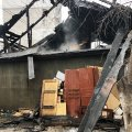 Подробиці пожежі на провулку першому Вільському в Житомирі. ФОТО