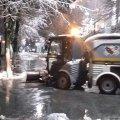 У міськраді запевняють, що в Житомирі працювала протиожеледна бригада