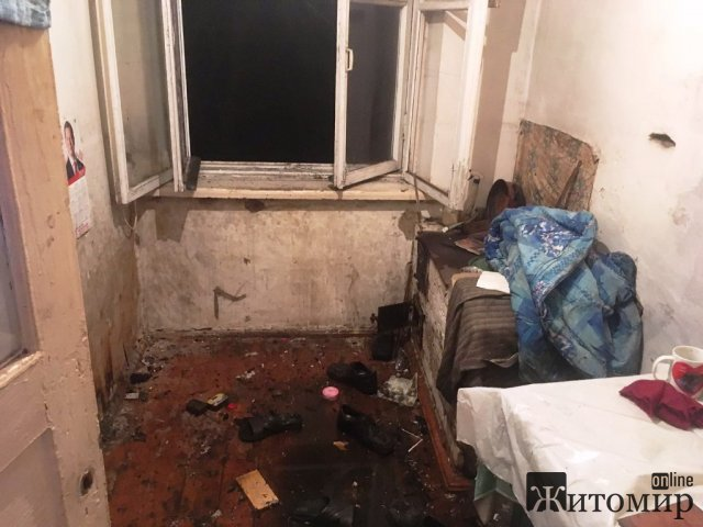 У райцентрі Житомирської області горіла квартира: сусіди виявили власника. ФОТО