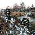 В житомирській області рятувальники підняли чоловіка зі стічного каналу