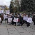 У Житомирі під стінами ОДА мітингують ФОПи. ВІДЕО