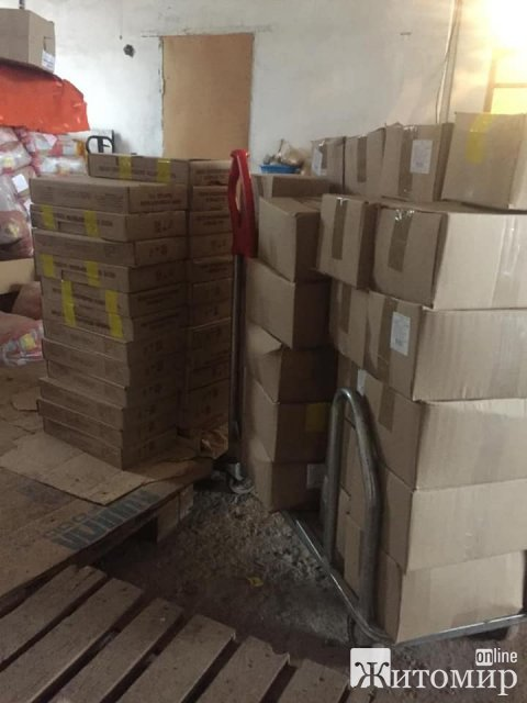 СБУ блокувала поставки неякісних продуктів до дитсадків та лікарень Житомирщини. ФОТО
