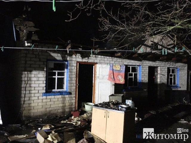 У Коростишеві та селі Ружинського району горіли будівлі. ФОТО