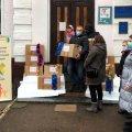 У Житомирі вихованці будинків сімейного типу отримали новорічні подарунки. ФОТО
