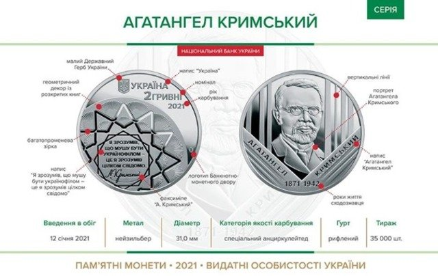 В Україні ввели в обіг нову монету номіналом 2 гривні