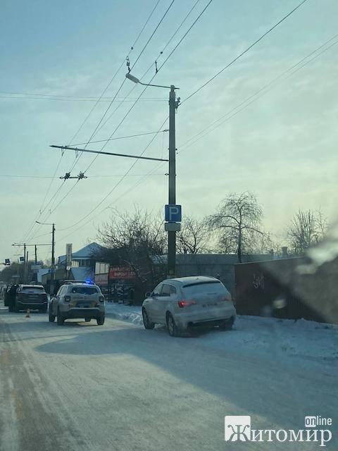 У Житомирі - знову аварія. ФОТО
