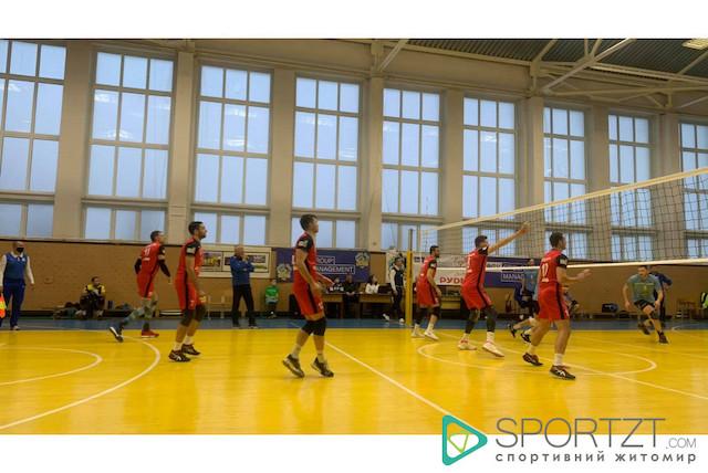 """Житомирські """"Житичі"""" перемогли у трьох партіях волейболу"""