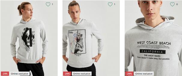 Цвет года Ultimate Gray в мужской коллекции одежды INTERTOP