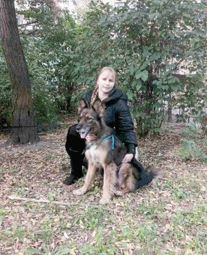 Серафима Петрова шукала собаку 11 років. ФОТО