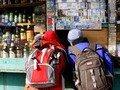 У Житомирі дітям продали дві пляшки шампанського та цигарки