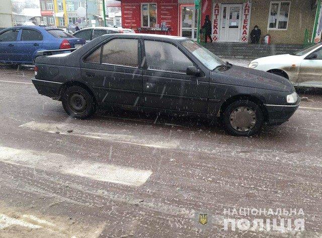 У Коростені Peugeot збив жінку на пішохідному переході. ФОТО