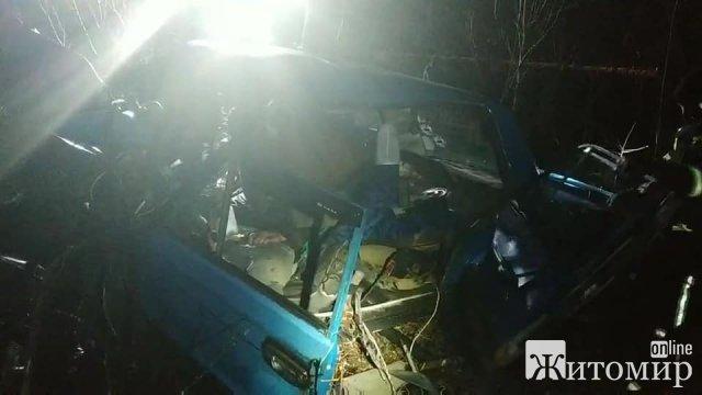 ДТП у Малинському районі, загинула людина. ФОТО