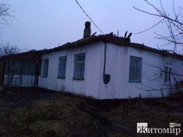 Пожежі в Житомирській області за добу. ФОТО