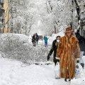 Мадрид накрыл сильнейший за последние 50 лет снегопад, есть погибшие. ВИДЕО