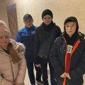 У Житомирі щедрувальники побачили забутий господарями ключ у дверях квартири і занесли ключа охоронцю