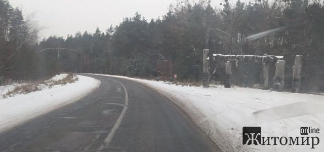 Уночі дороги Житомирщини чистило 40 одиниць техніки, - САД
