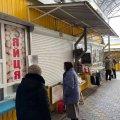 Чому на Житньому ринку у Житомирі не працює майже половина кіосків? ФОТО