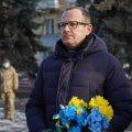 Поклали квіти, згадали про Акт Злуки і вшанували Івана Огієнка
