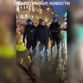 У Росії ОМОНівець одним ударом повалив прихильницю Навального. Відео 18+