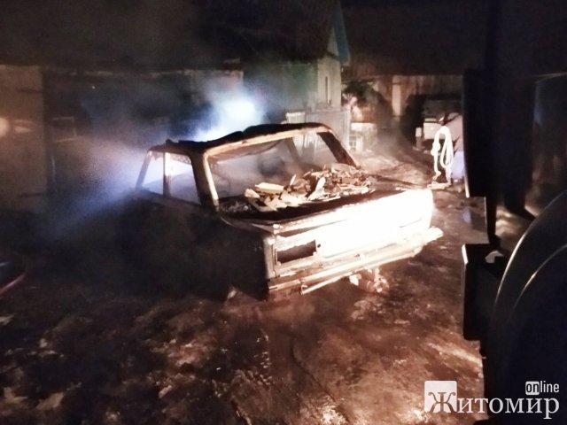 За добу на Житомирщині виникло три пожежі, під час ліквідації однієї з яких виявлено тіло загиблого чоловіка. ФОТО