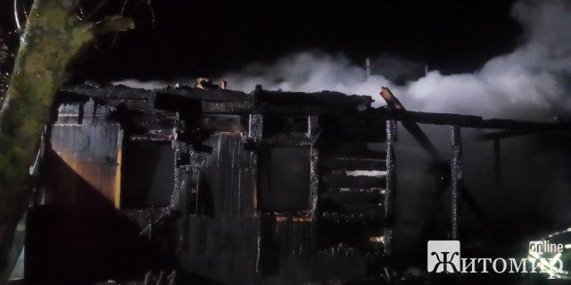 У селах на Житомирщині під час пожеж травмувалась жінка та загинув чоловік. ФОТО