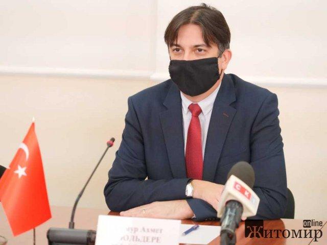 Турки зацікавились житомирським індустріальним парком. ФОТО