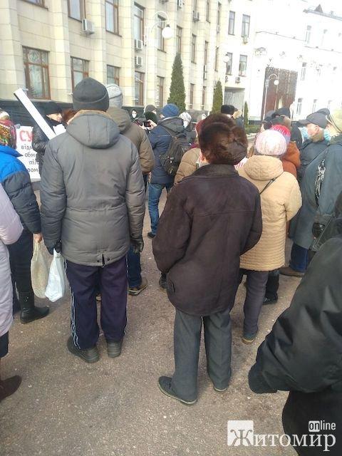 Сергей Форест: Житомир сегодня лихорадит от очередной акции протеста по тарифам