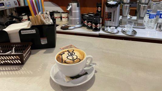 Неймовірне капучіно з популярної житомирської кав'ярні. ФОТО
