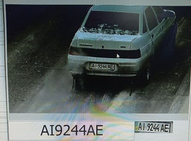 Житомирян просять допомогти знайти вкрадений автомобіль. ФОТО